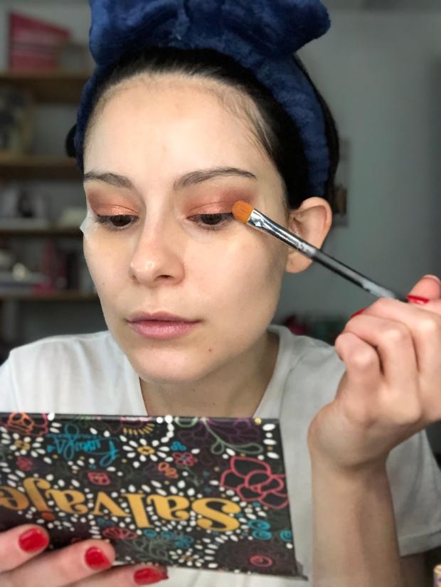 Becky G x ColourPop Makeup Look
